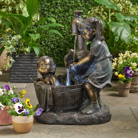 Hermanitos Fountain by Christopher Knight Home