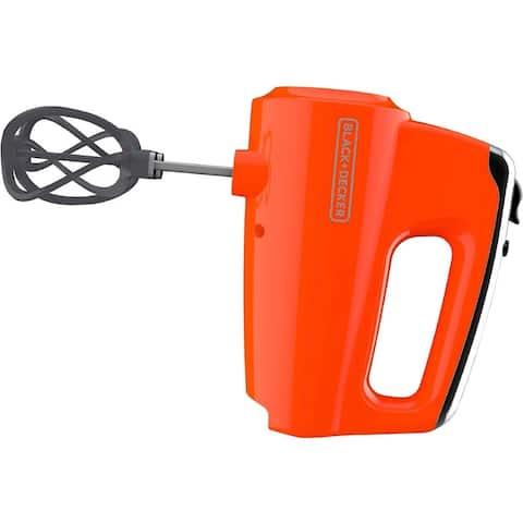 Black & Decker MX600TR Helix Performance Premium Hand Mixer - Orange