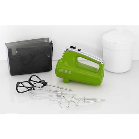 Black & Decker MX600L Helix Performance Premium Hand Mixer - Green