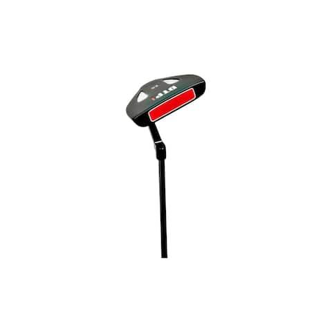 DTP1 Full Mallet Putter - black/red