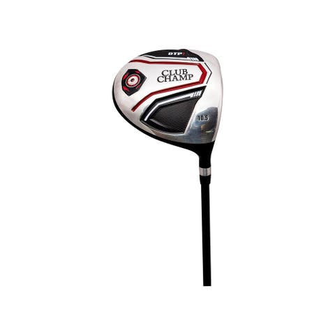 DTP1 Driver with Headcover - black/red