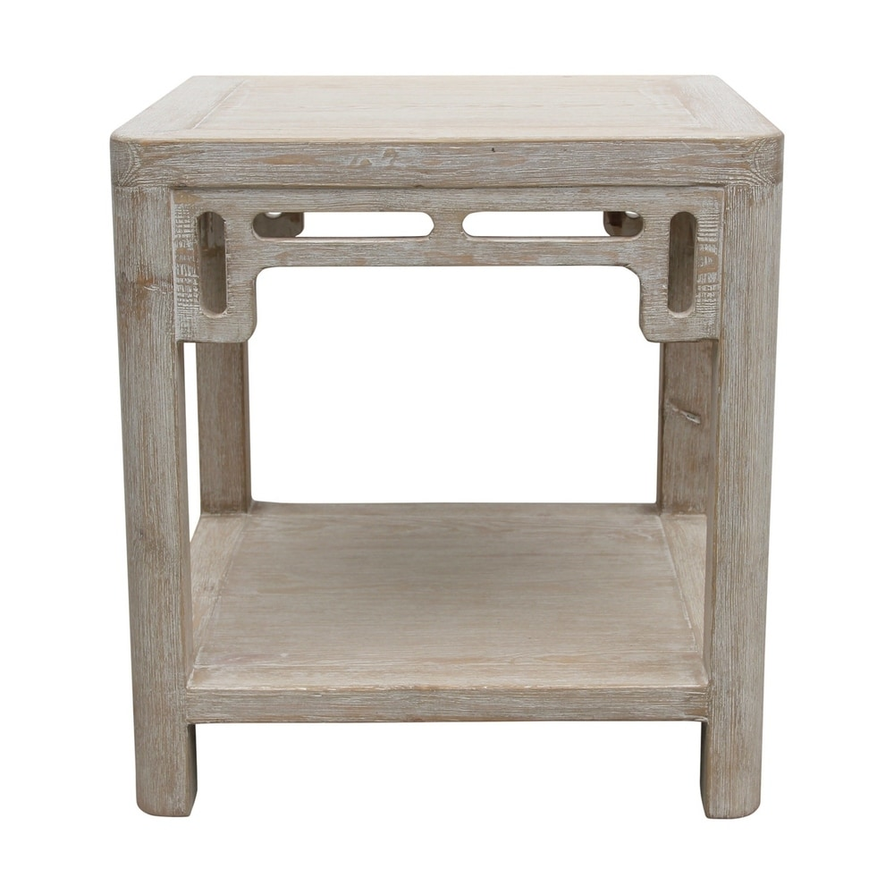 Peking Ming Arch Side Table Weathered