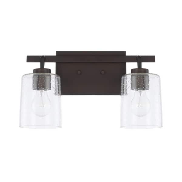 Greyson 2 Light Bath Vanity Fixture Overstock 30740506