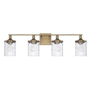 Link to Colton 4-light Bath/Vanity Fixture Similar Items in Bathroom Vanity Lights
