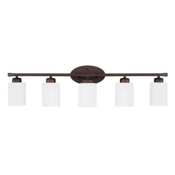 Dixon 5 Light Bath Vanity Fixture