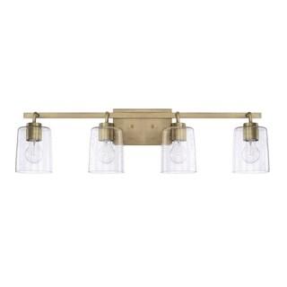 Link to Greyson 4-light Bath/Vanity Fixture Similar Items in Bathroom Vanity Lights