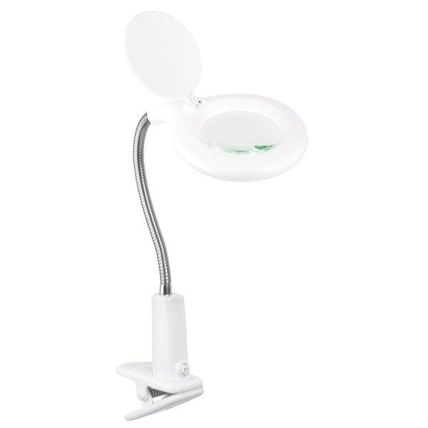 OttLite LED Clip Magnifier Lamp