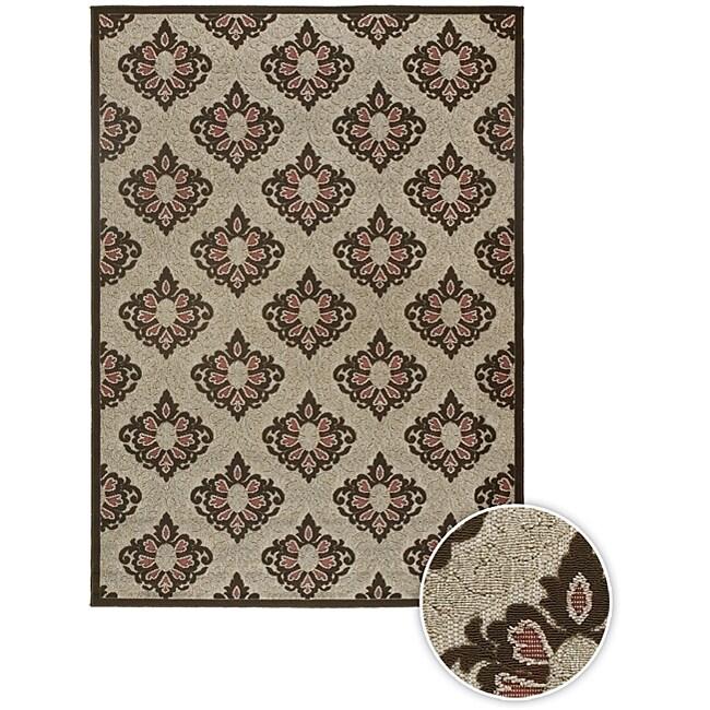Artist's Loom Indoor/Outdoor Contemporary Oriental Rug - 5'3 x 7'6