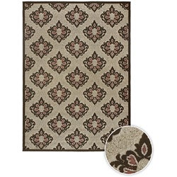 Artist's Loom Indoor/Outdoor Contemporary Oriental Rug - 5'3 x 7'6 - Thumbnail 0