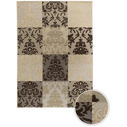 Artist's Loom Indoor/Outdoor Contemporary Oriental Rug (5'3 x 7'6)
