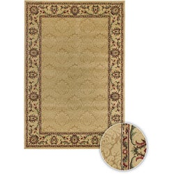Artist's Loom Indoor Transitional Floral Rug (3'9 x 5'9) - 3'9 x 5'9 - Thumbnail 0