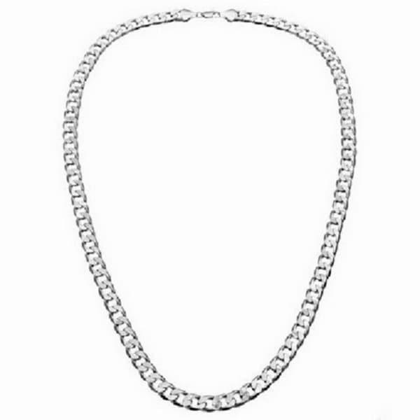 Simon Frank 7mm Cuban Necklace (24-inch)