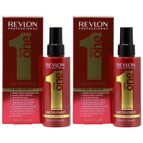 Revlon Uniq One All in One Hair Treatment 150ml/5.1oz (Pack of 2)