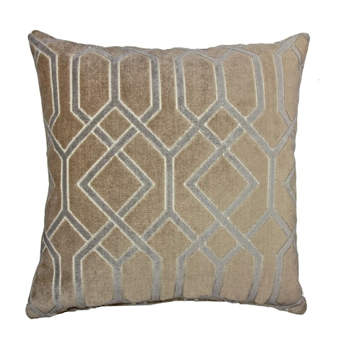 Olivia Quido Love Luxury Cut Velvet 24-inch Floor Pillow