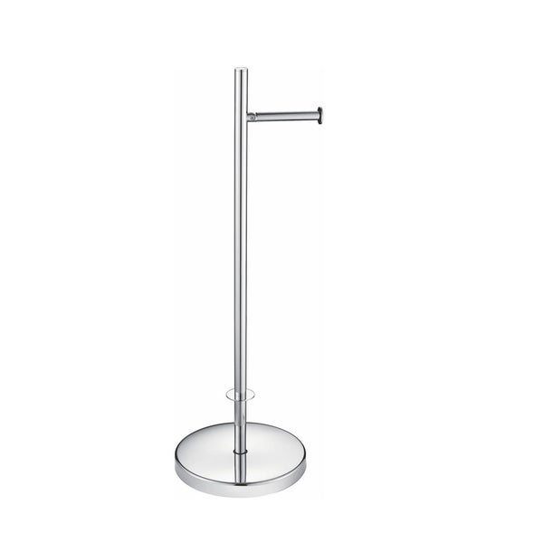 Aqua Rondo Free Standing Toilet Paper Holder - Chrome. Opens flyout.