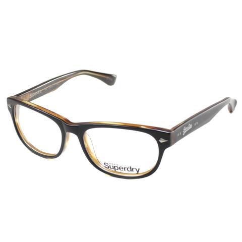 SuperDry SD Osaka 104 53mm Unisex Black Frame Eyeglasses 53mm