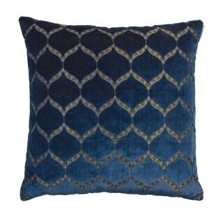 Olivia Quido Dazzle Luxury Cut Velvet 20-inch Pillow