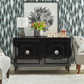 Link to angelo:HOME Jaslene Buffet/Media Cabinet Similar Items in Dining Room & Bar Furniture