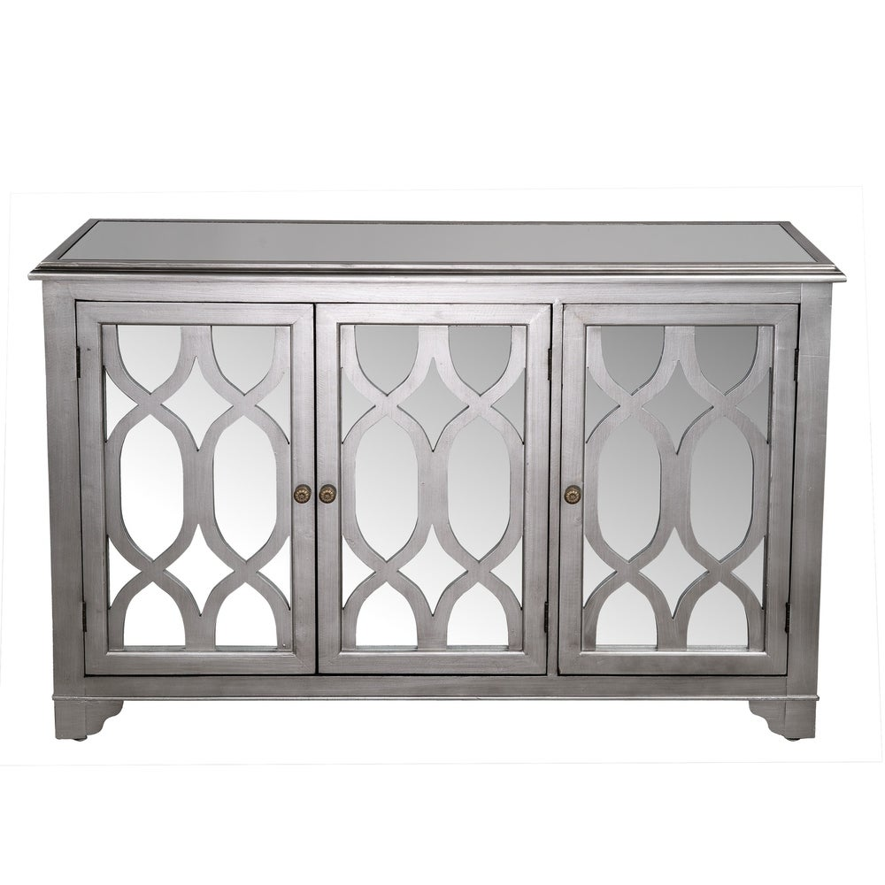 Statements by J Hannah Wooden Buffet with 3 Doors & Shelf
