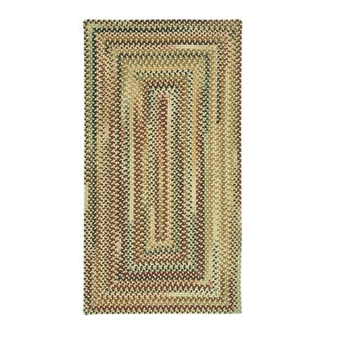 Bangor Concentric Rectangle Braided Rugs