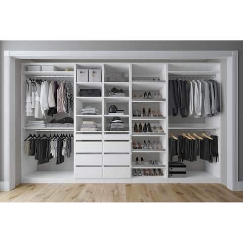 Closet & Co 132-inch Custom Closet System