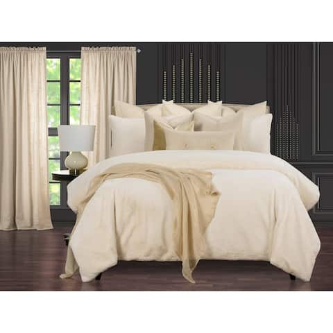 Such A Beauty Elegant Faux Fur Supreme Duvet Cover and Insert Set