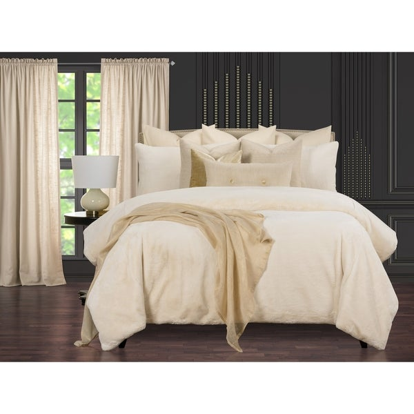 Such A Beauty Elegant Faux Fur Supreme Duvet Cover and Insert Set. Opens flyout.