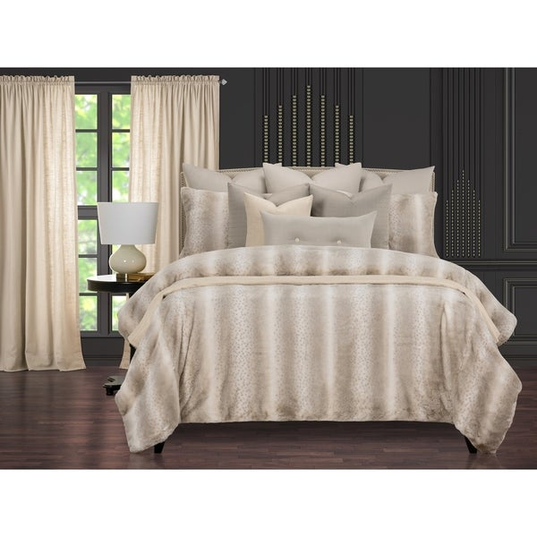 Night On The Town Fabulous Faux Fur Supreme Duvet Cover and Insert Set. Opens flyout.