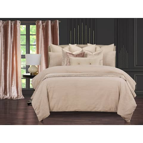 Arm in Arm Soft Faux Fur Supreme Duvet Cover and Insert Set