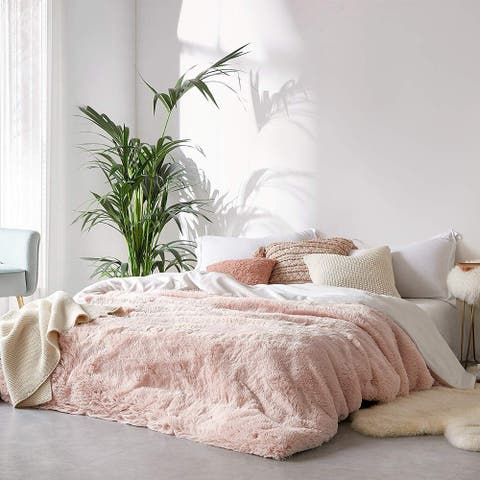 Coma Inducer Duvet Cover - Are You Kidding - Cloud Pink/White