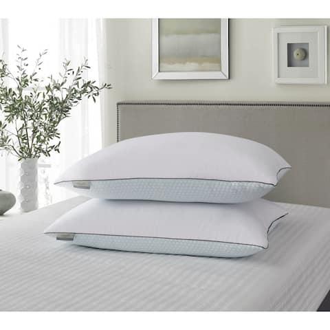 kathy ireland Summer / Winter White Goose Feather Pillow (Set Of 2)