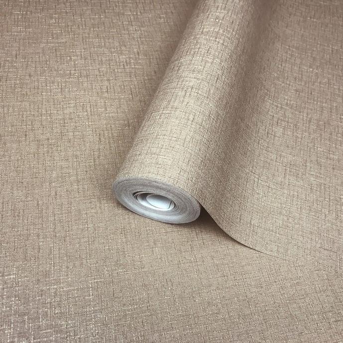 Overstock Wallpaper cocoa mocha beige gold metallic stria lines Plain Textured