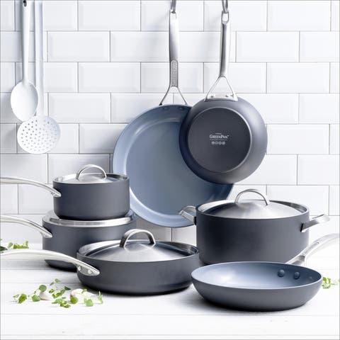 Paris Pro 11-piece Non-stick Ceramic Cookware Set