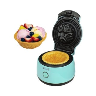 Link to Brentwood TS-1401BL Waffle Bowl Maker, Blue Similar Items in Kitchen Appliances