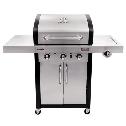 Char-Broil Signature TRU-Infrared Series 3-Burner Grill - Silver/Black