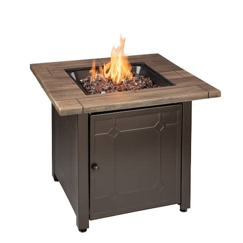 Endless Summer Brooks LP Gas Outdoor Fire Pit GAD15290ES