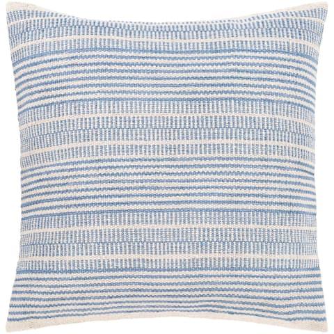 Renna Farmhouse Striped 20-inch Throw Pillow