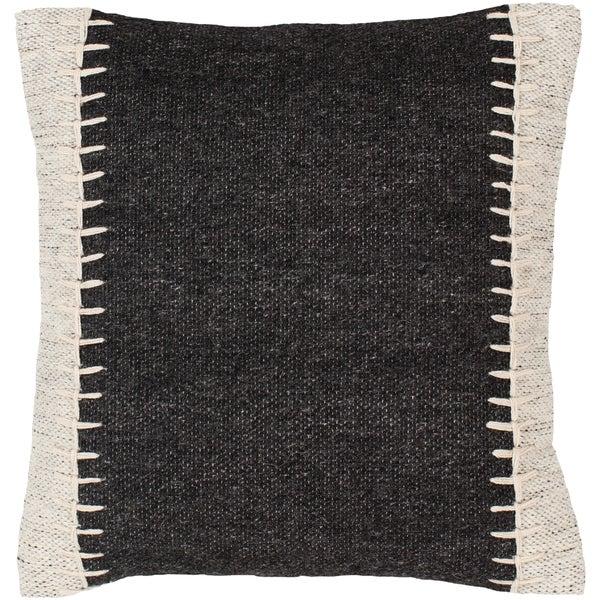 Nixa Stitched Wool 20-inch Throw Pillow. Opens flyout.