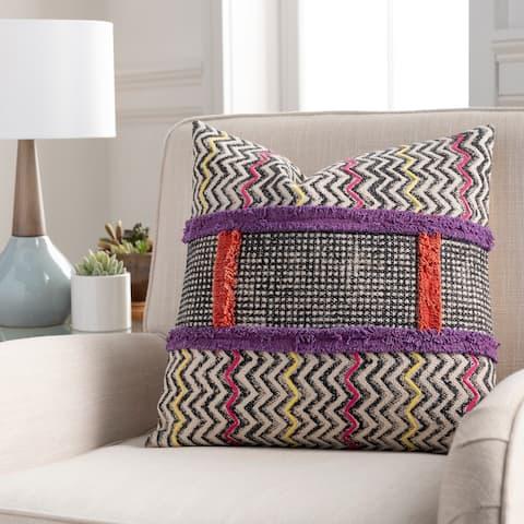 Apala Tribal Block Print Throw Pillow