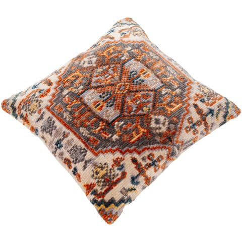 Sal Polyester Boho Medallion 27-inch Throw Pillow
