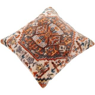 Sal Polyester Boho Medallion 27-inch Throw Pillow