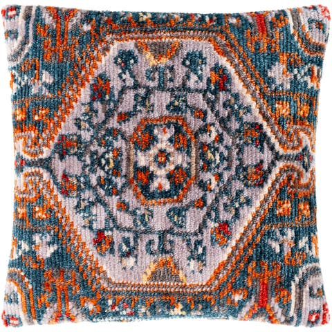 Sal Boho Medallion Polyester Throw Pillow