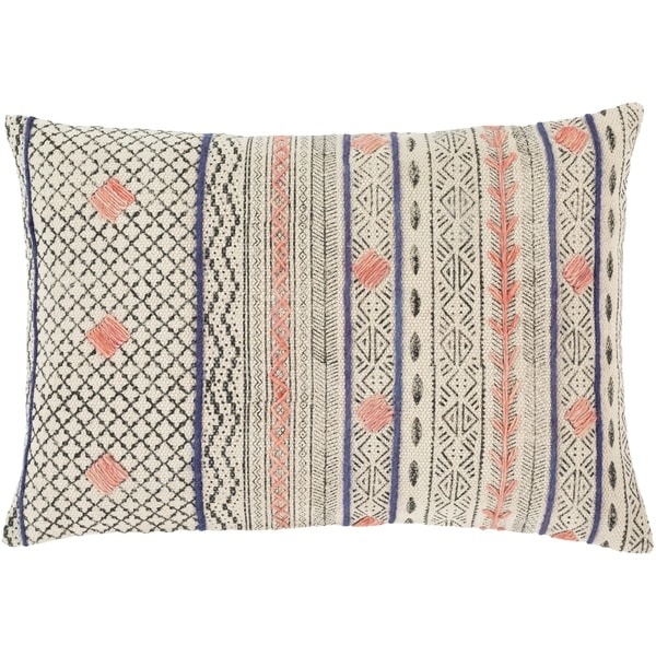 Lukina Global Block Print 16x24-inch Lumbar Throw Pillow