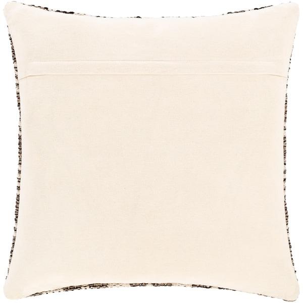 Marcel Hand Woven Diamond Trellis Cotton Throw Pillow