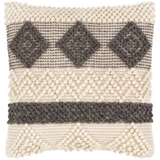 Hanneke Farmhouse Patterned 20-inch Throw Pillow
