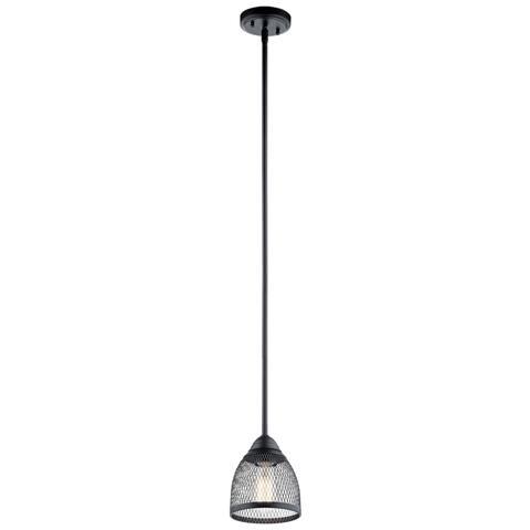 Kichler Lighting Voclain 1-Light Mini Pendant Black