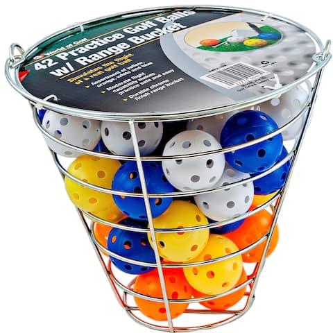 42 Practice Golf Balls