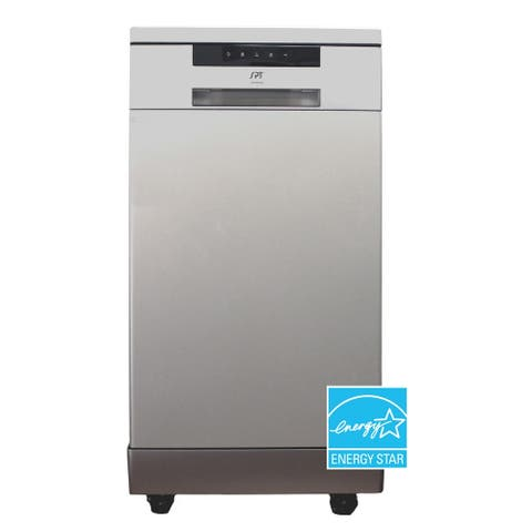 18 inch Energy Star Portable Dishwasher, Stainless Steel