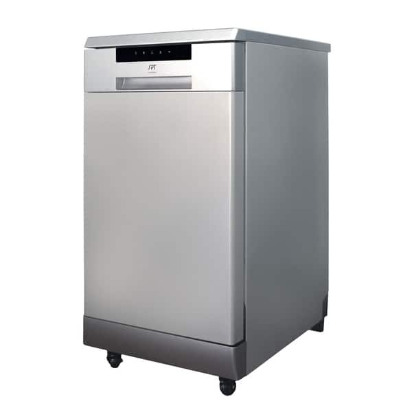 18 Inch Energy Star Portable Dishwasher Stainless Steel Overstock 30757467