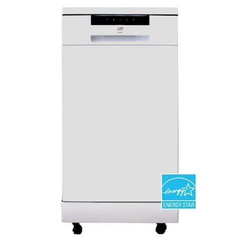 18 inch Energy Star Portable Dishwasher, White